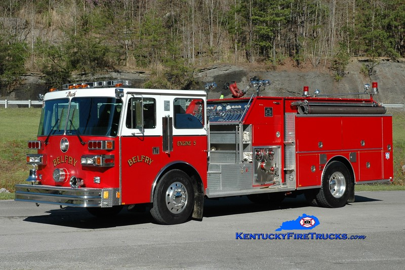Belfry  Engine 5<br /> 1990 Sutphen Deluge 1500/1000<br /> Greg Stapleton photo
