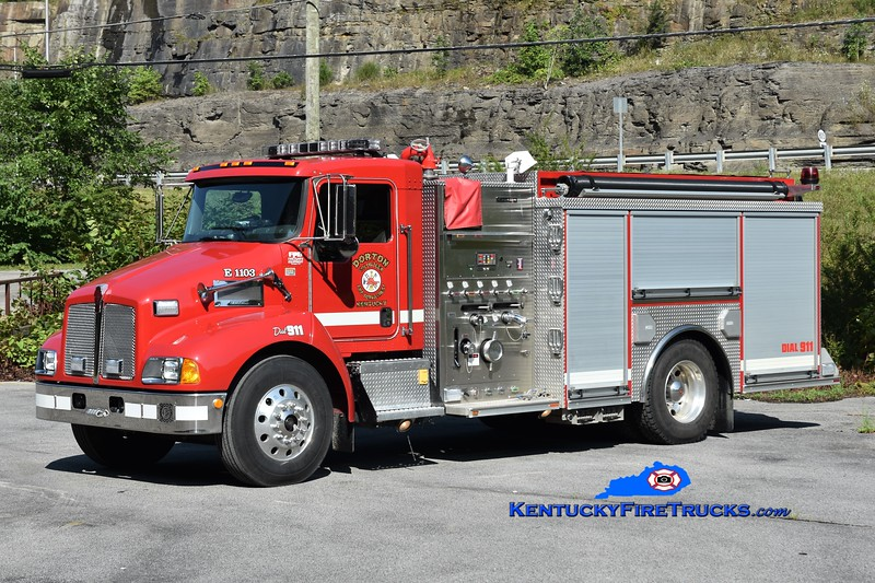 Dorton  Engine 1103<br /> 2007 Kenworth T-300/Crimson 1500/1000<br /> Greg Stapleton photo