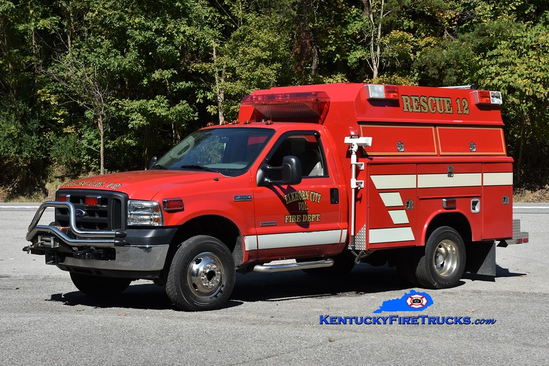 Elkhorn City Rescue 12<br /> x-Ferrell's Creek, KY<br /> 2005 Ford F-350 4x4/Fouts Bros <br /> Greg Stapleton photo