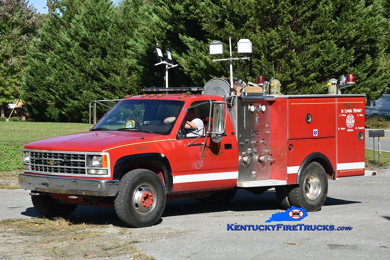 Grapevine Rescue 1<br /> 1993 Chevy 2500 4x4/Allegheny 250/250<br /> Greg Stapleton photo
