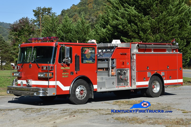 Grapevine Engine 1<br /> x-Jeromesville, OH<br /> 1994 Sutphen 1500/1000/20<br /> Greg Stapleton photo