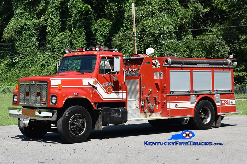 Greasy Creek  Engine 21<br /> x-Lyme, CT<br /> 1990 International S-2554/Middlesex 1250/1000<br /> Greg Stapleton