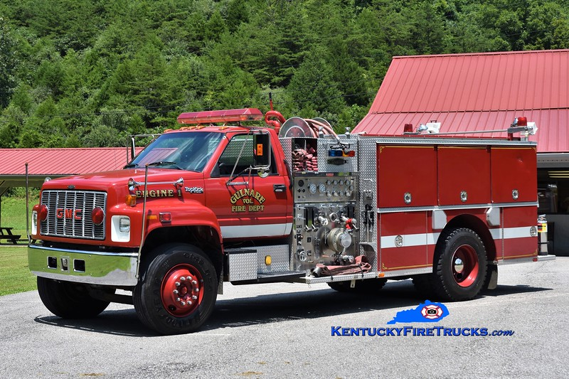 Gulnare  Engine 1<br /> 1994 GMC Topkick/Quality 1000/1000<br /> Greg Stapleton photo