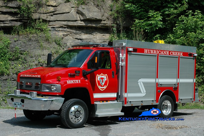 <center> Hurricane Creek  Rescue 3 <br> 2008 GMC 5500 4x4/Wynn  <br> Greg Stapleton photo <br> </center>