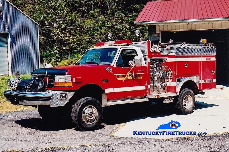 <center> RETIRED <br> Kimper  Rescue 1 <br> 1995 Ford SD 4x4/E-One 250/250 <br> Greg Stapleton photo </center>