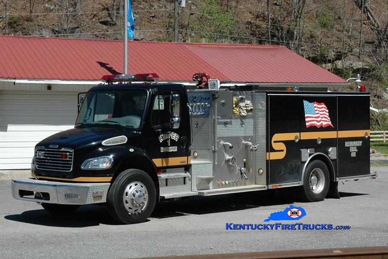 Kimper  Engine 1<br /> 2006 Freightliner M2-106/American LaFrance 1500/1000<br /> Greg Stapleton phto