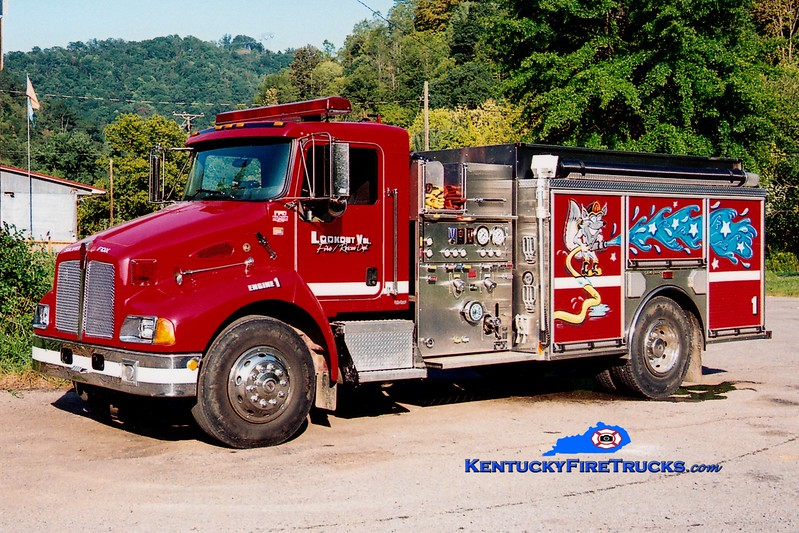 <center> Lookout  Engine 1  <br> 2004 Kenworth T-300/HME-Ahrens Fox 1250/1000 <br> Greg Stapleton photo </center>