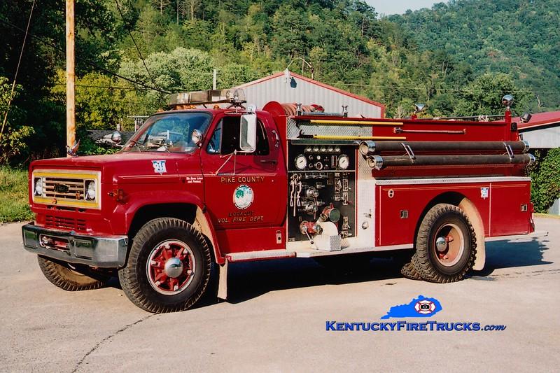 <center> Lookout  Engine 2  <br> 1979 Chevy C60/Pierce 1000/750 <br> Greg Stapleton photo </center>