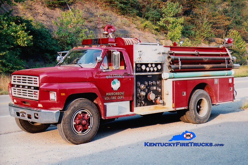 <center> Marrowbone  Engine 1 <br> 1983 Ford F/Quality 1000/750 <br> Greg Stapleton photo </center>