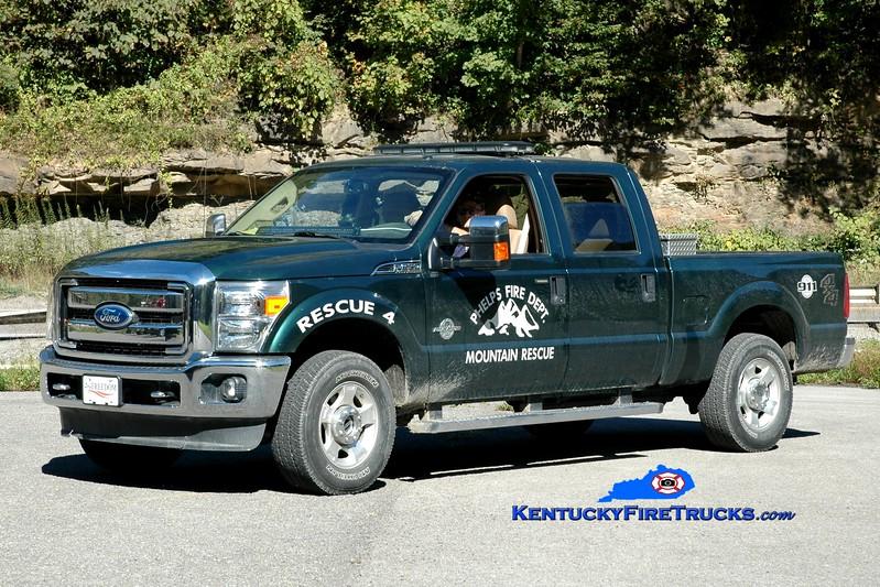 <center> Phelps  Rescue 4  <br> 2011 Ford F-350 4x4 <br> Greg Stapleton photo </center>
