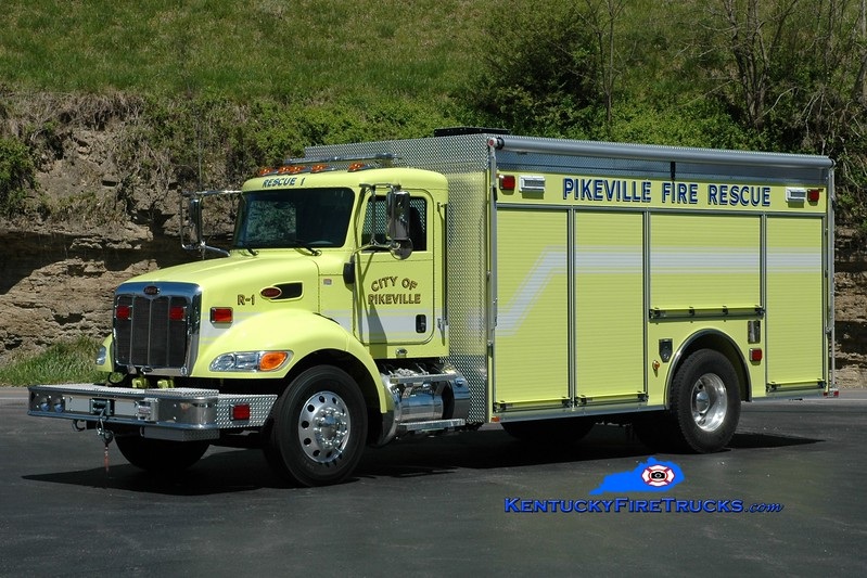 Pikeville  Rescue 1<br /> 2016 Peterbilt/Pierce<br /> Greg Stapleton photo
