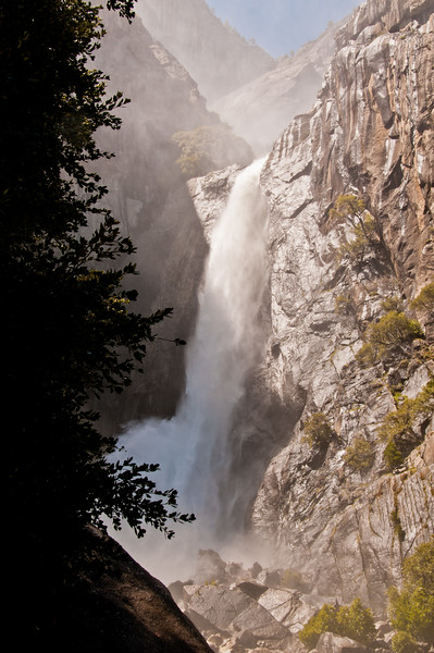 The Lower Yosemite Falls