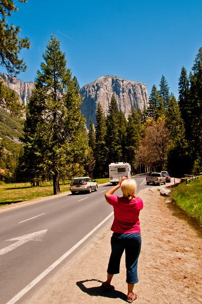 Chris in Yosemite
