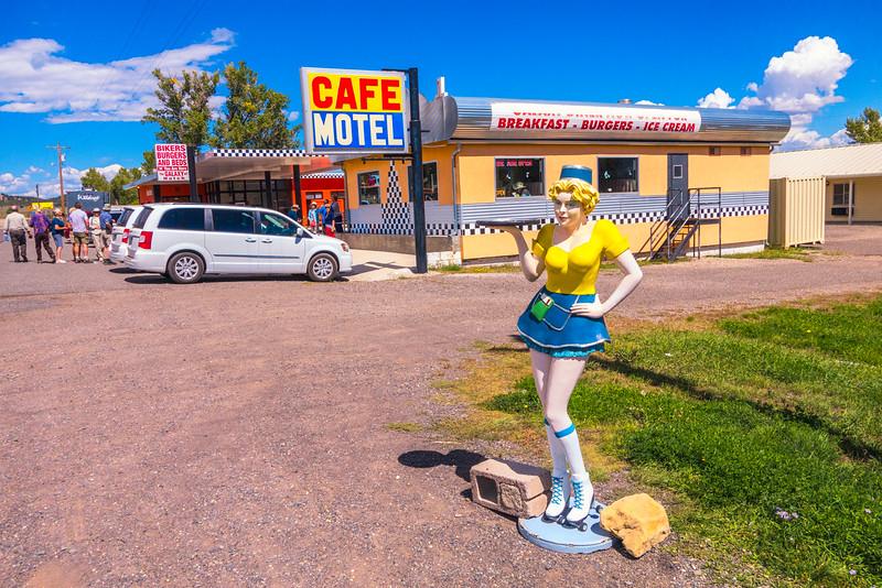 The Galaxy Diner, Hatch, Utah