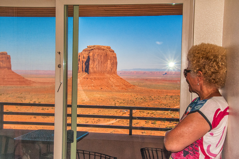 View from the View Hotel, Monument Valley