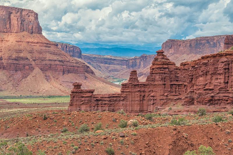 Colorado River upstream from Moab