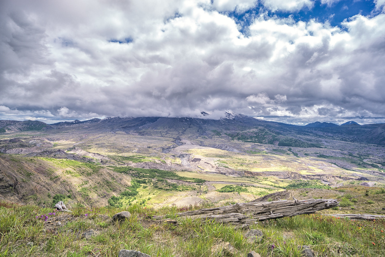 At Mount St. Helens Visitor Centre
