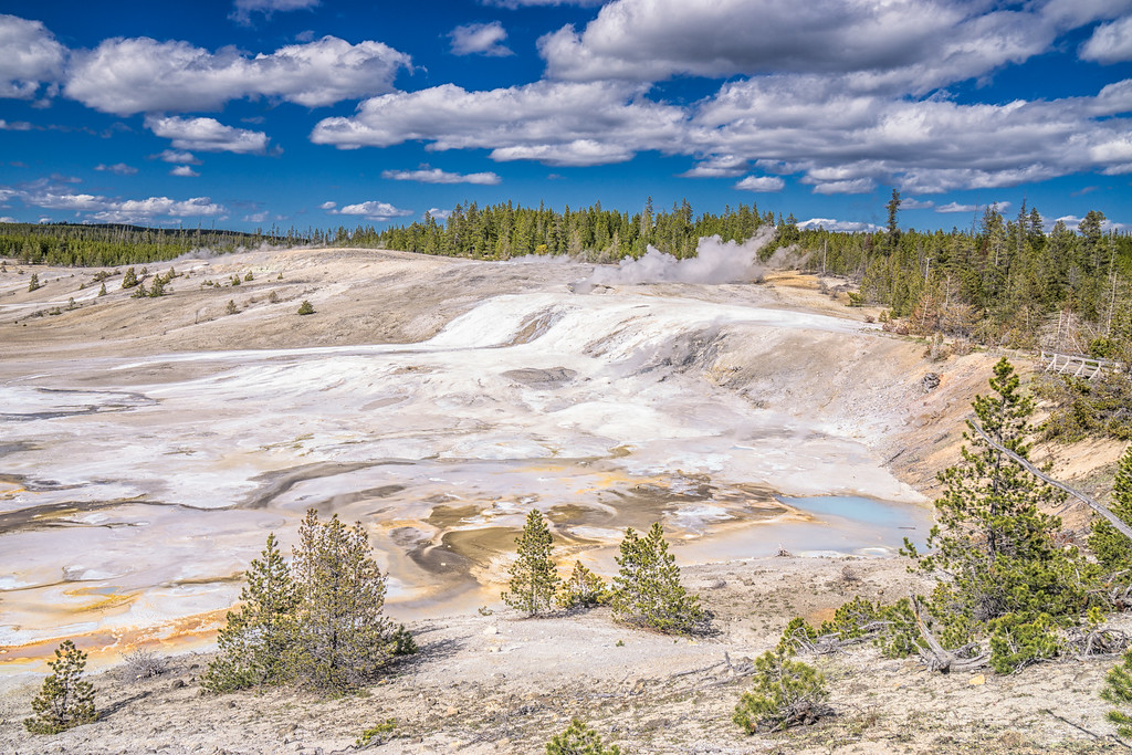 Yellowstone National Park - Norris Basin