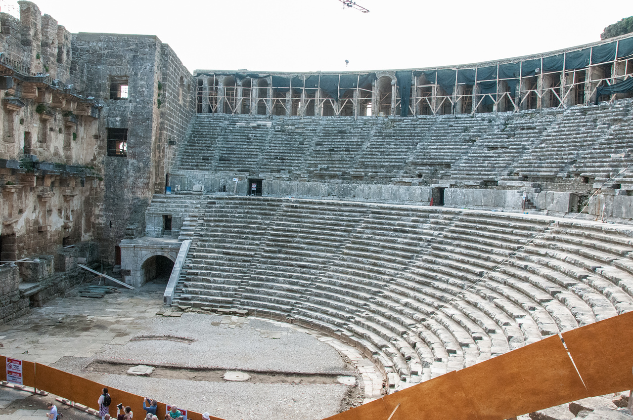 Roman Theatre, Aspendos, Turkey