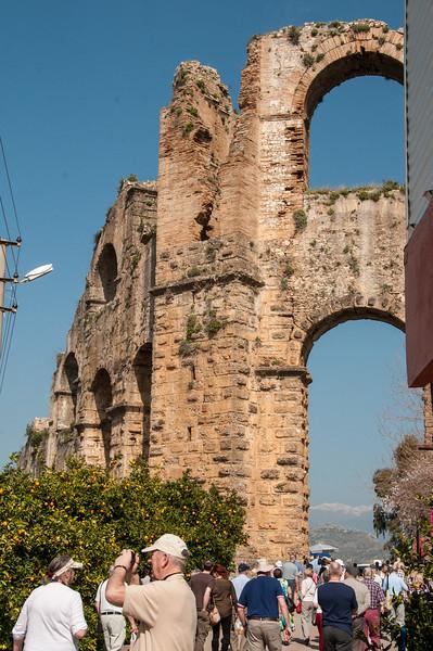 Aqueduct at Aspendos
