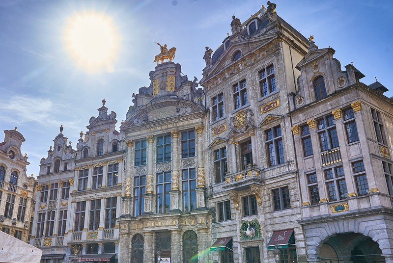 Around the Grande Place, Brussels