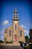 The church at La Richardais