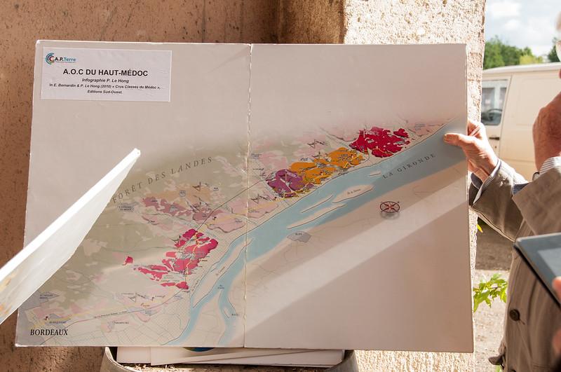 The winelands of Haut-Medoc