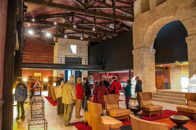 Château Cos d'Estournel - the tasting room
