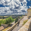 The ramparts from the Mairie, Lussan