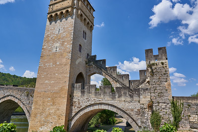 The medieval bridge at Cahors