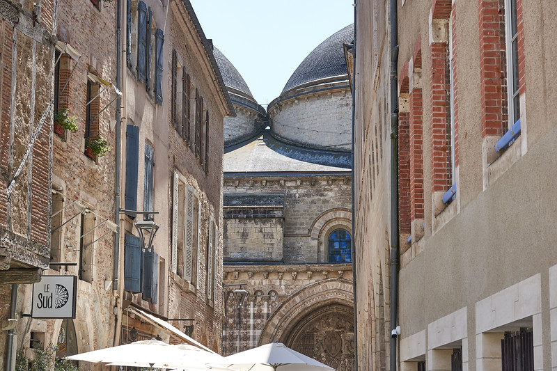In the streets of Cahors
