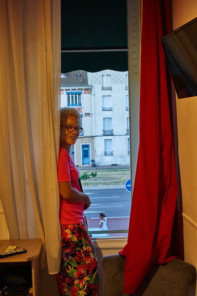 Around Chalons on World Cup Final Night