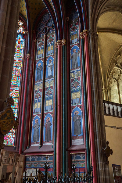 Inside Limoges Cathedral