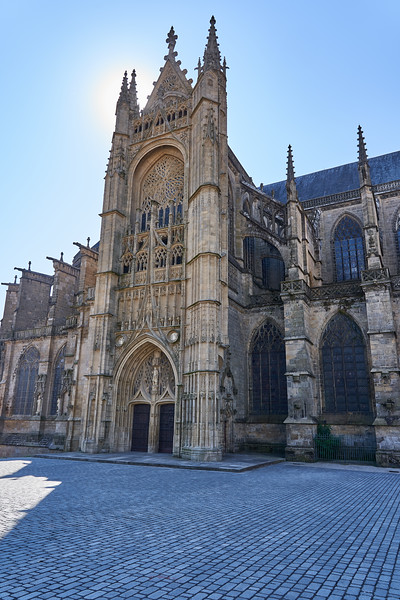 Around Limoges Cathedral