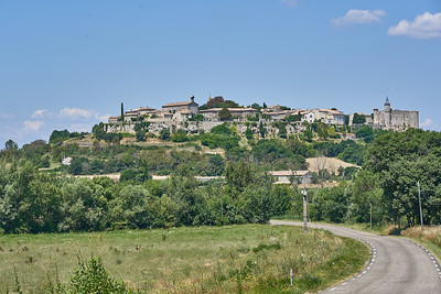 View of Lussan