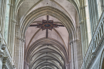 In Bayeux Cathedral