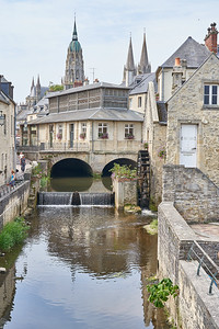 The streets of Bayeux