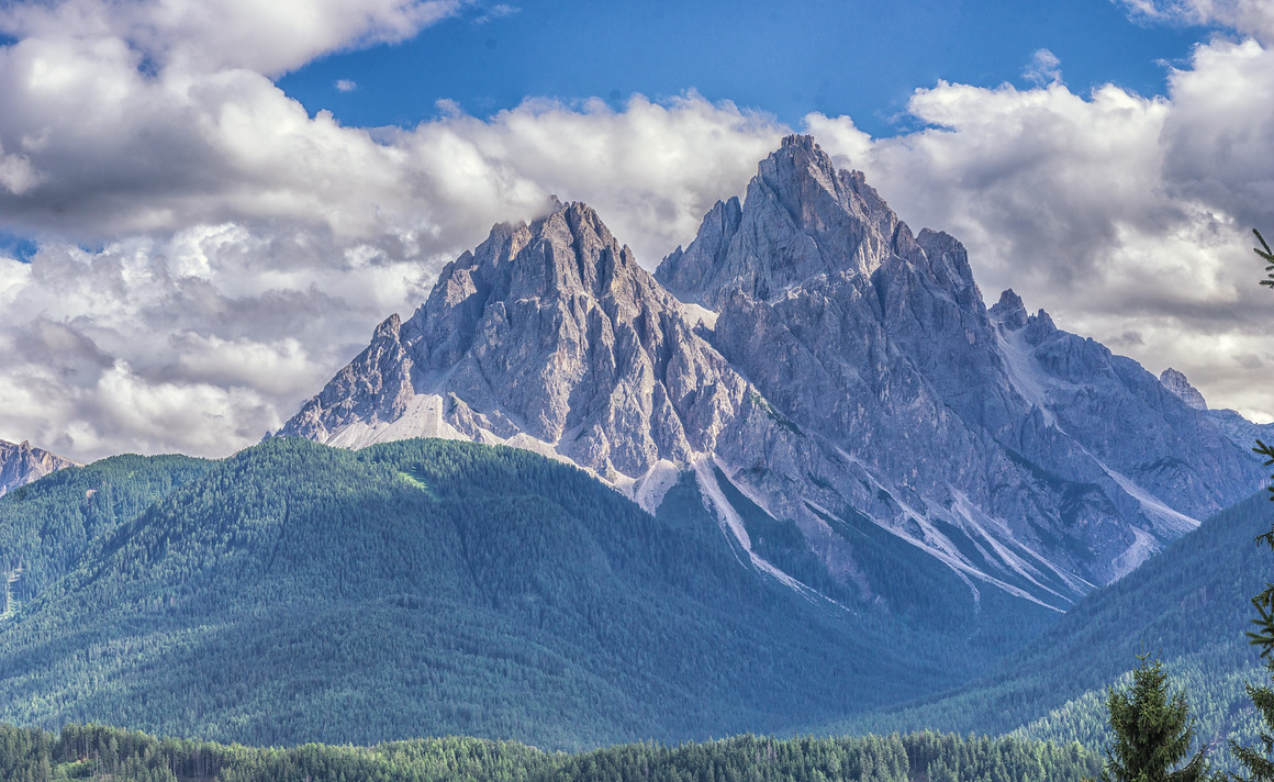 Mountains south east of San Candido