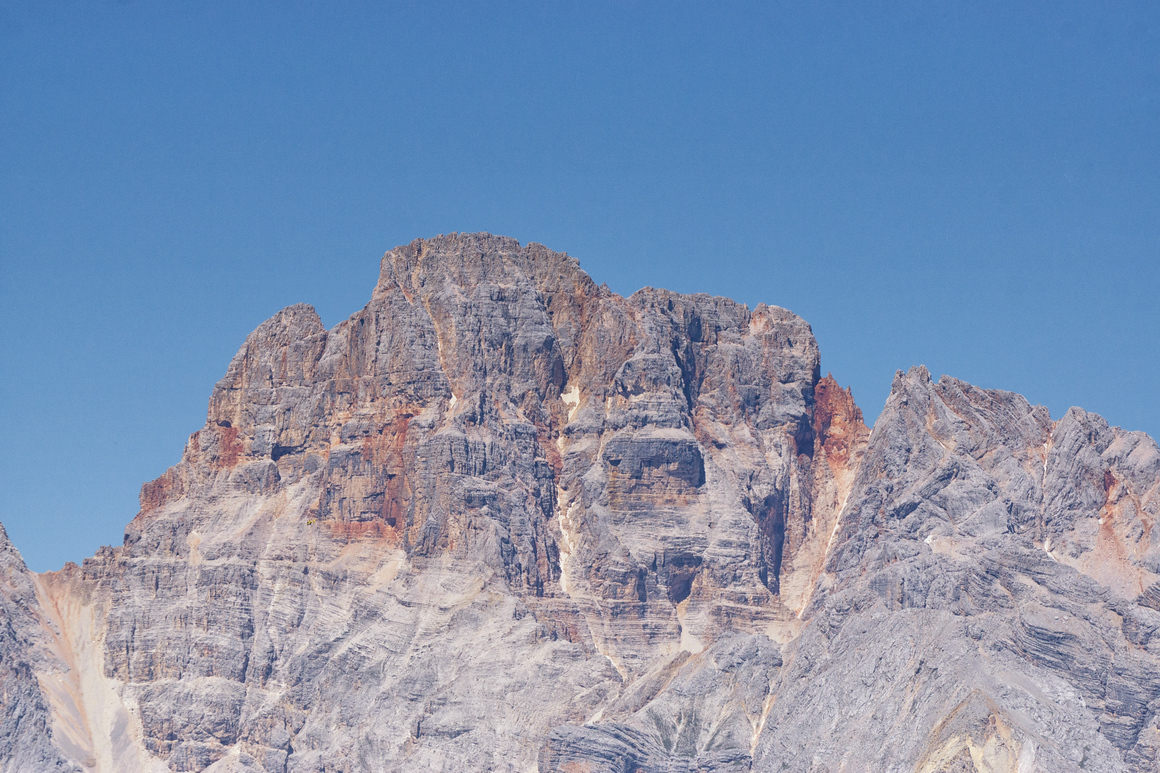 Mountain seen from Rifugio Auronzo