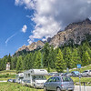 From Passo Tre Croci to our lunch stop