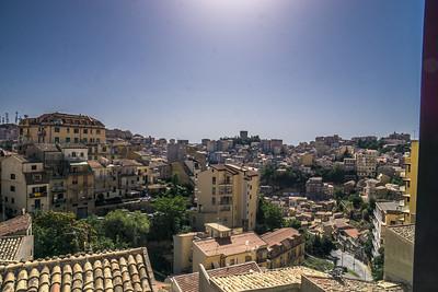 Around the Hotel Sicilia, Enna