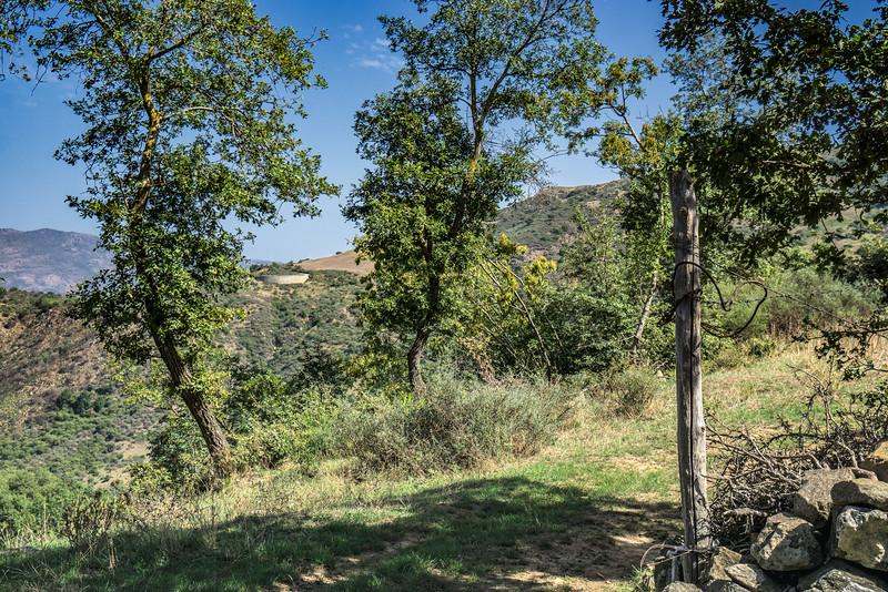 Walking from near Gangi to Geraci Siculo