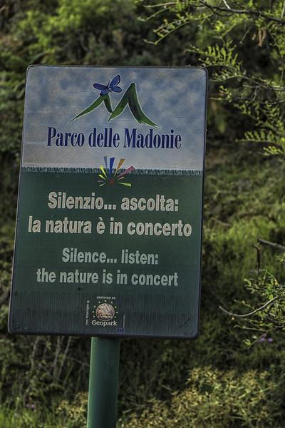 Entering Parco delle Madonie  7