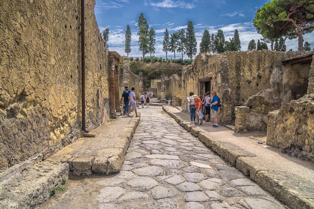 Around Herculaneum