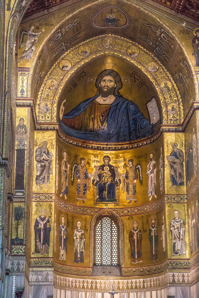 Monreale - inside the Cathedral