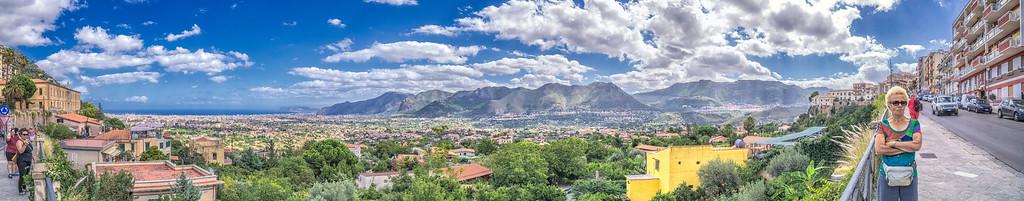 Monreale - Palermo valley