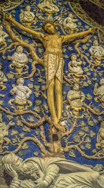 Monreale Cathedral - Capella del Crocifosso