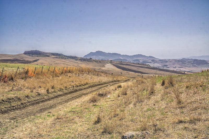 Walking from Villadoro to Gangi
