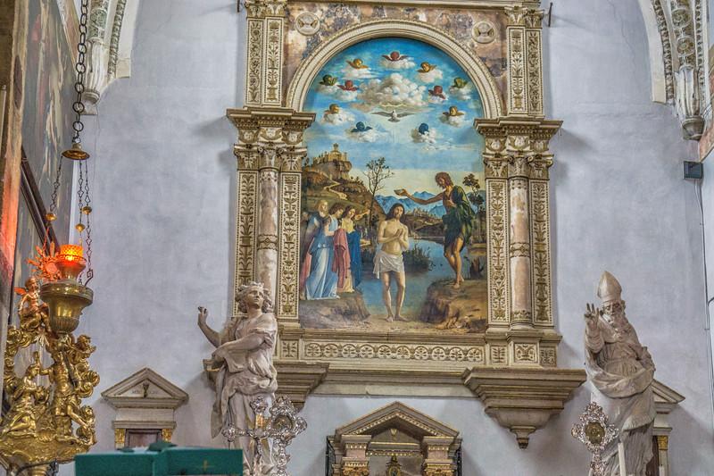 Around S. Giovanni Battista in Bragore