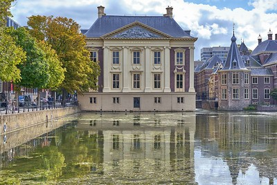 In Den Haag - at the Mauritshuis